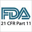 FDA CFR21 Part 11 Compliance